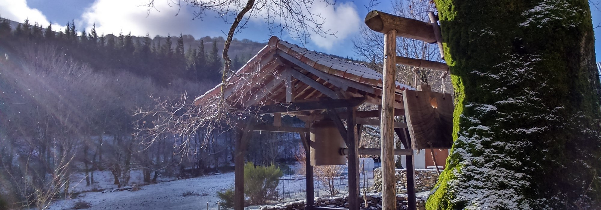 Yujo Nyusanji, le temple zen du Caroux : Quitter le château et entrer dans la montagne